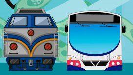 Aumentaron los colectivos y trenes:es el tercer incremento en lo que va del año
