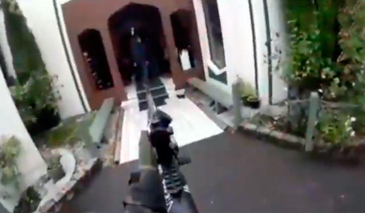 Nueva Zelanda Masacre Video Picture: Masacre En Nueva Zelanda: Así Entró Uno De Los Terroristas