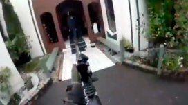 Masacre en Nueva Zelanda: así entró uno de los terroristas a una de las mezquitas