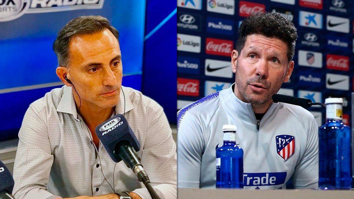 La crítica de Latorre a Simeone: Se hace el ganador y sabe que lo que dice es para idiotas