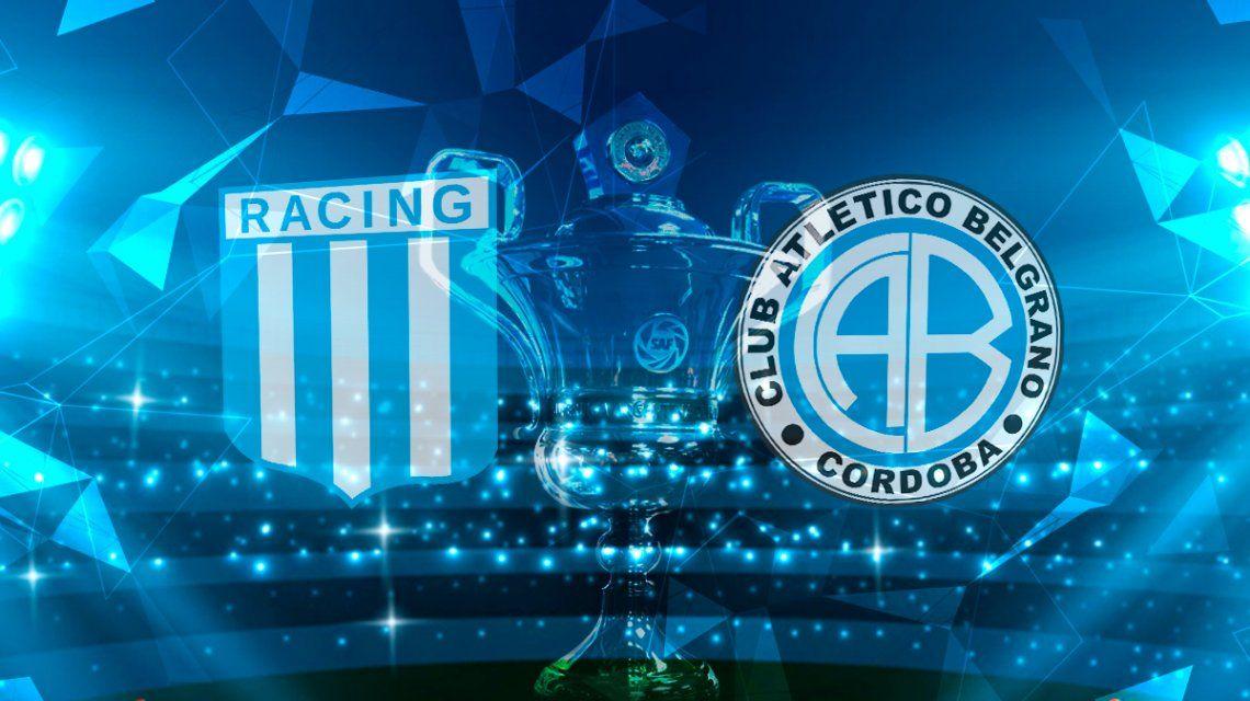 Racing le ganó desde el arranque al comprometido Belgrano y se afianza en la punta