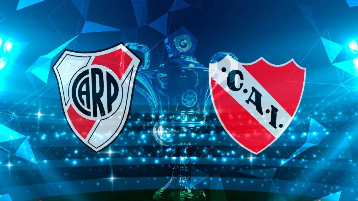River vs. Independiente por la Superliga: horario, formaciones y TV