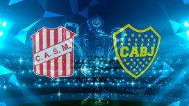 San Martín de Tucumán vs Boca por la Superliga: horario