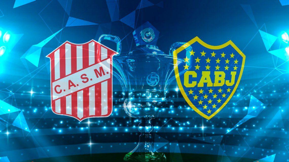 San Martín de Tucumán vs Boca por la Superliga: horario, formaciones y TV