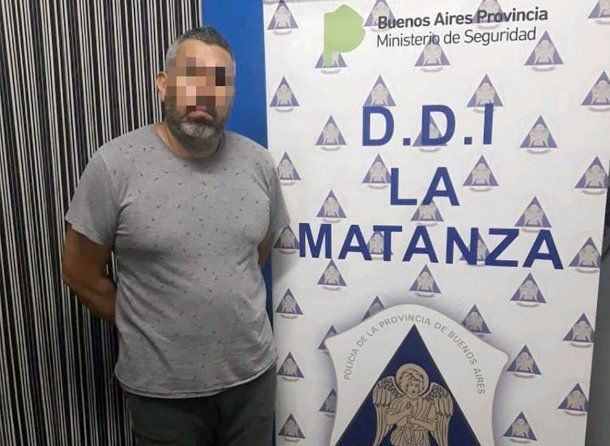 <p>Juan Marcelo Rearte, detenido como presunto entregador</p>