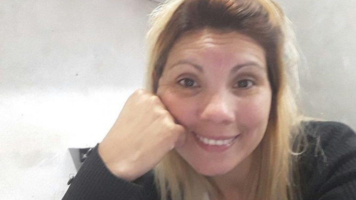 María Caccone murió de un tiro en el cuello