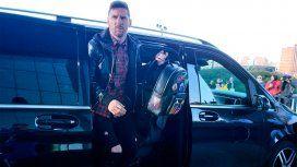 Después de más de ocho meses, Lionel Messi se sumó a la Selección argentina