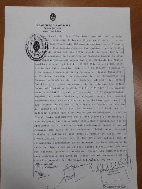 Piden apartar a la fiscal González Bazzani