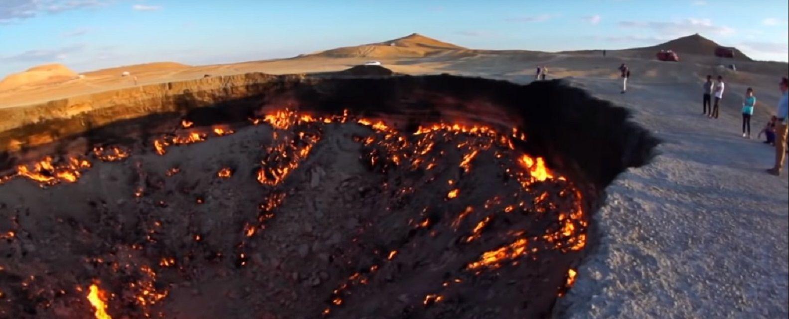Cráter de Turkmenistán