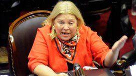 Carrió acusó a Lorenzetti de intentar hacerle un golpe al presidente de la Corte Suprema