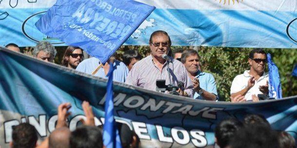 <p>Guillermo Pereyra, titular del Sindicato de Petroleros</p>