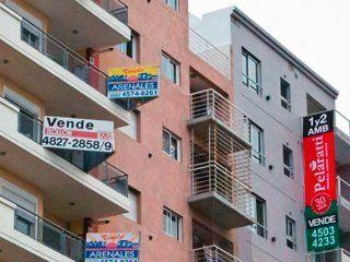 las escrituras con creditos hipotecarios se desplomaron un 91% en la ciudad