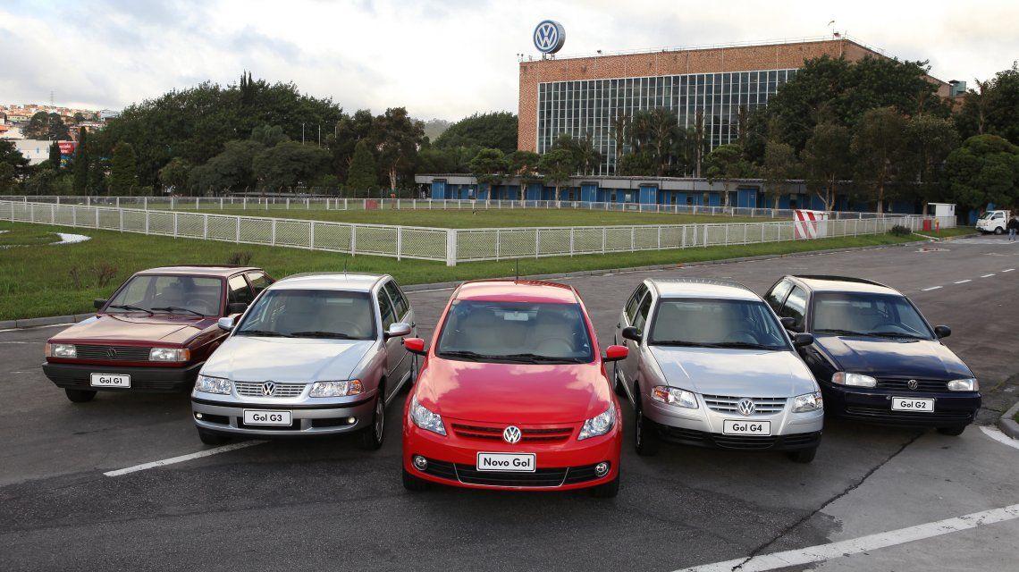 El Volkswagen Gol fue un éxito de ventas hasta 2015
