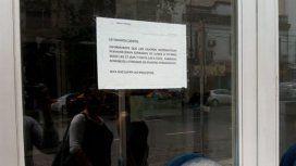 Cajeros automáticos cerrados por la noche