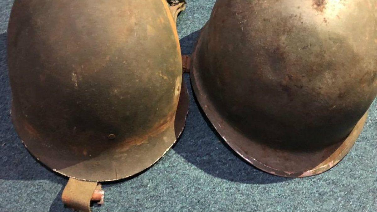 Matías busca al dueño legítimo del casco inspirado por la historia de otro soldado