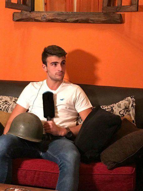 Matías, de 21 años, inició la campaña esta semana en las redes sociales<br>
