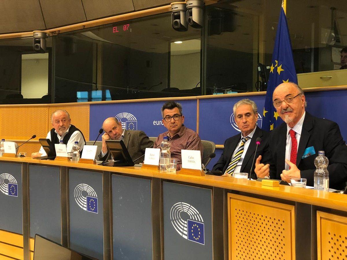 Tomada advirtió ante el Parlamento Europeo sobre el retroceso inédito de la democracia con el gobierno de Macri