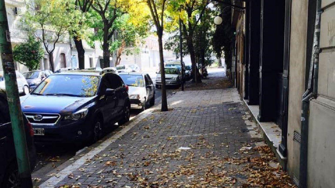 Otoño en el barrio porteño de Palermo.