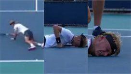 VIDEO: Un tenista colapsó durante el Masters de Miami y no pudo seguir jugando