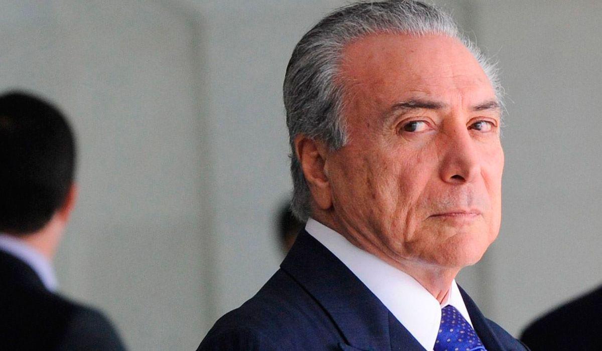 La justicia brasileña ordenó liberar al ex presidente Michel Temer