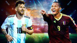 Con la esperada vuelta de Messi, Argentina enfrenta a Venezuela