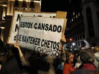 marchas en tribunales y dolores en apoyo al juez ramos padilla