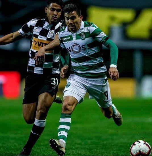 Acuña es titular en el Sporting Lisboa de Portugal (Foto: Instagram Marcos Acuña)