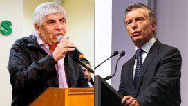 Moyano presentó una denuncia penal contra Macri por maniobras de espionaje ilegal