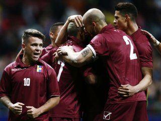 Venezuela le ganó a la Argentina en Madrid