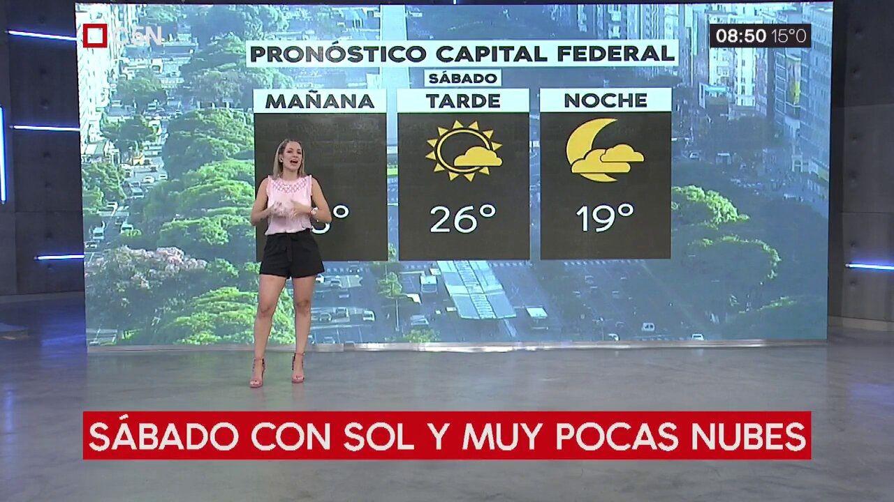 Pronóstico del tiempo del sábado 23 de marzo de 2019