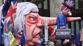 Tiempo de descuento: miles se manifestaron en Londres días antes del Brexit