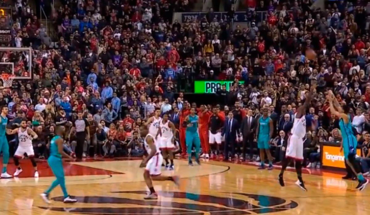 NBA: el triple de Jeremy Lamb para que Charlotte Hornets derrote a Toronto Raptors
