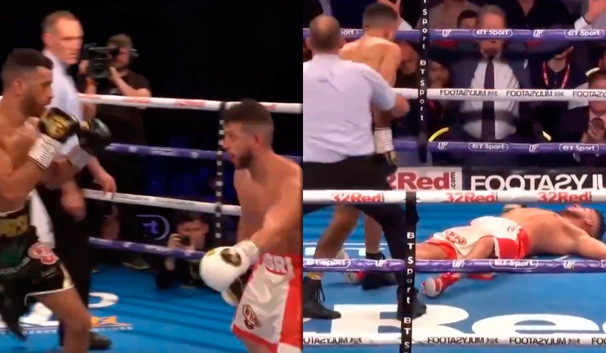 Boxeo: el KO de Sam Maxwell a Sabri Sediri