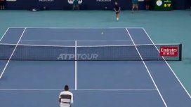 El saque humillante del polémico Nick Kyrgios en el Masters 1000 de Miami