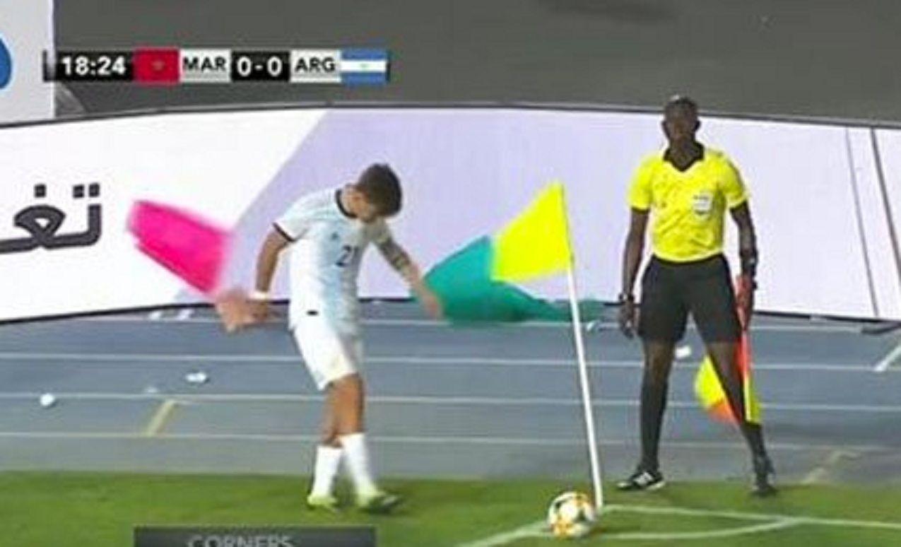 El viento en Argentina - Marruecos inundó de memes las redes sociales