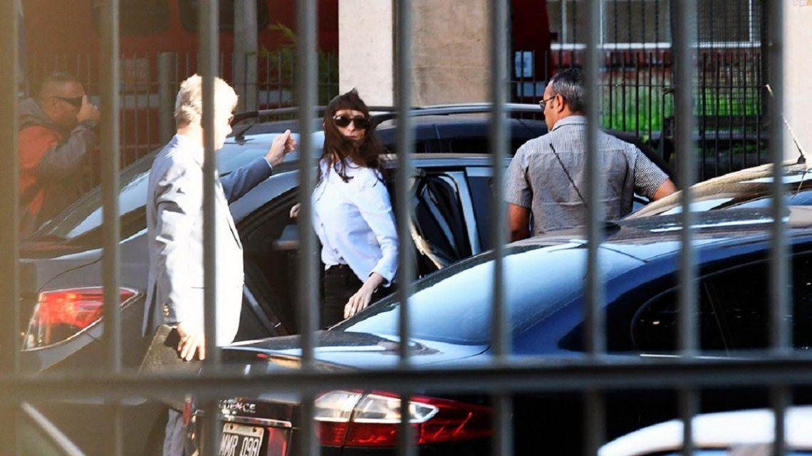 Florencia Kirchner en Comodoro Py