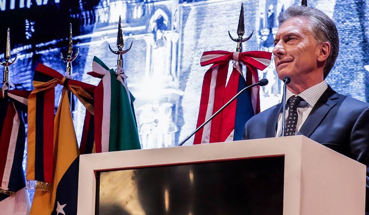 Macri aseguró que ahora Argentina tiene la más amplia libertad de prensa de su historia