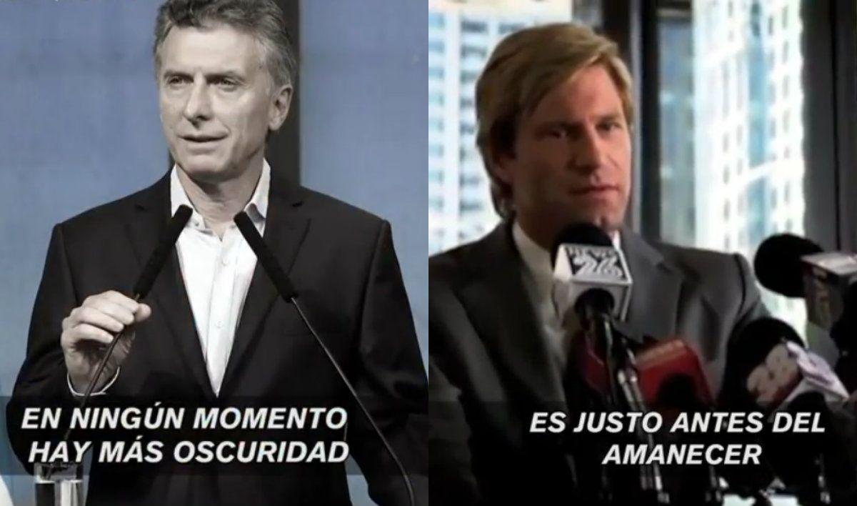 La extraña frase de Macri que lo asemejó a un villano de Batman