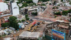 Tras las obras del viaducto del tren San Martín, reabren la avenida Juan B. Justo