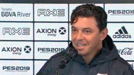 No para de festejar: Gallardo se burló de Boca por el reclamo al TAS