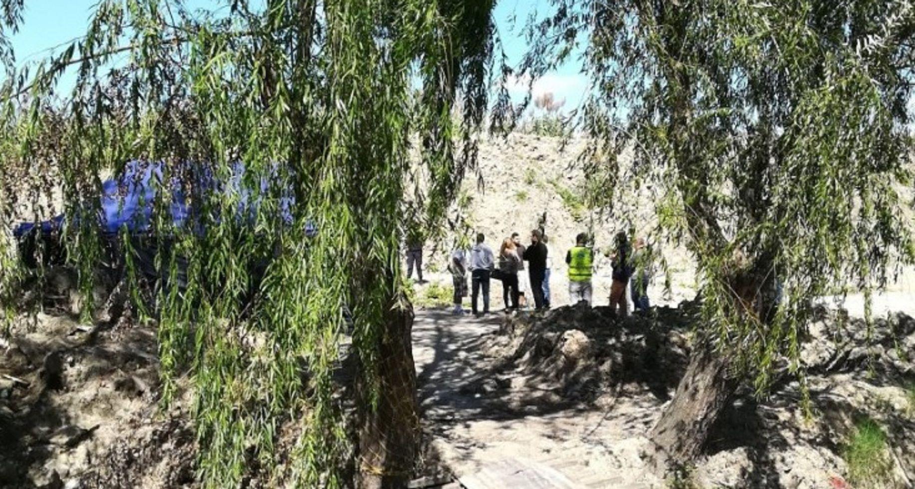 Hallaron el cadáver de una joven de 22 años envuelta en una colcha. Foto: San Fernando Nuestro