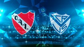 Independiente vs Vélez por la fecha 24 de la Superliga: horario