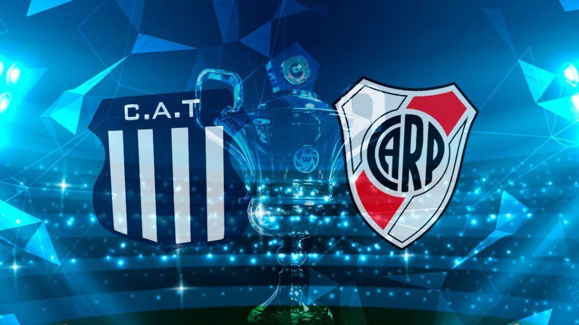 Talleres vs River por la fecha 24 de la Superliga: horario, formaciones y TV