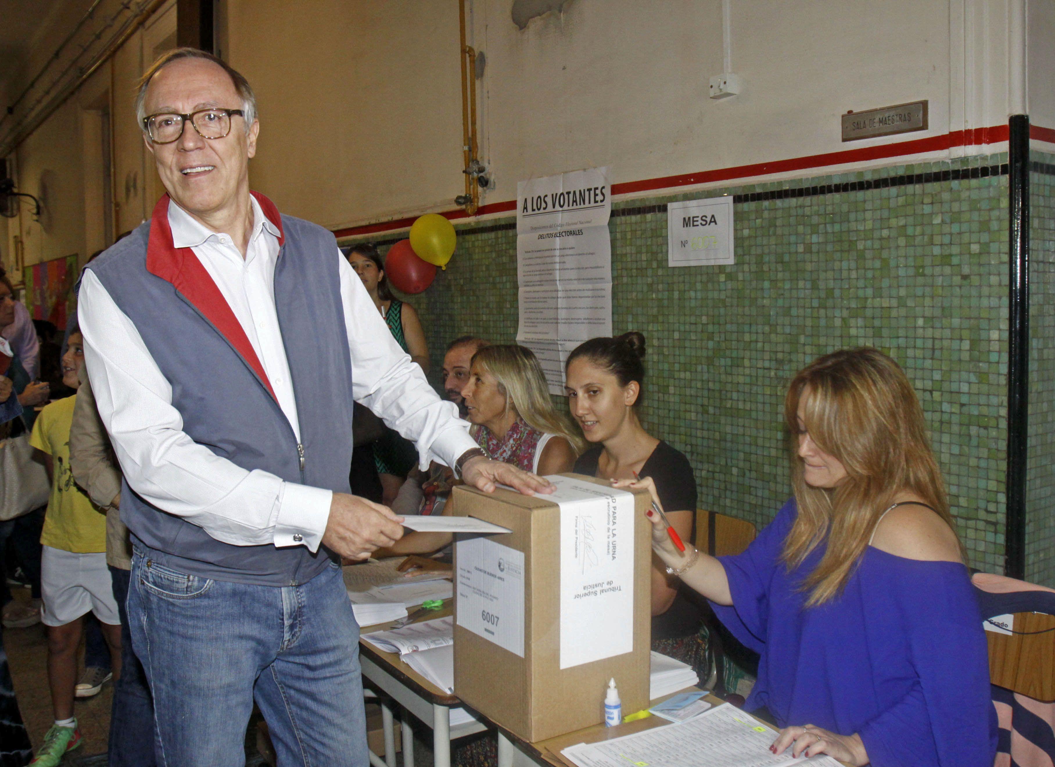 Guillermo Nielsen fue precandidato a jefe de Gobierno en 2015