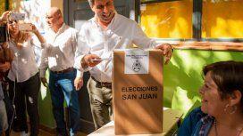 Uñac, gobernador de San Juan - Crédito: @sergiounac