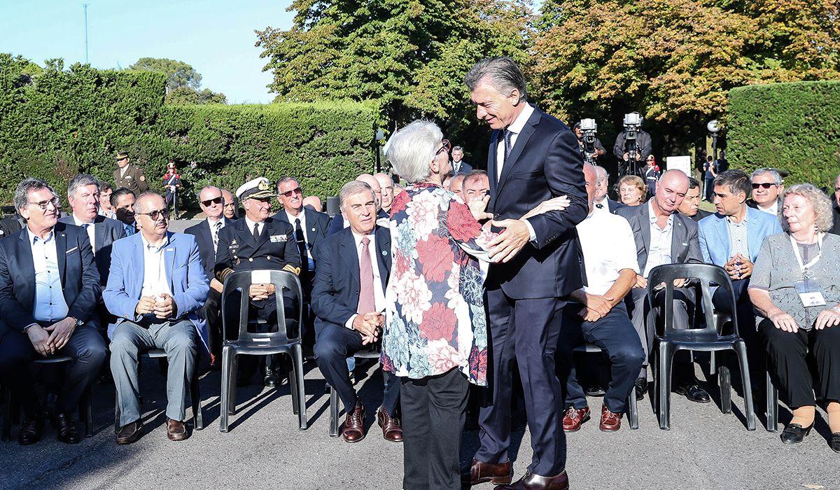 Macri recibió a ex combatientes y familiares de los caídos en Malvinas