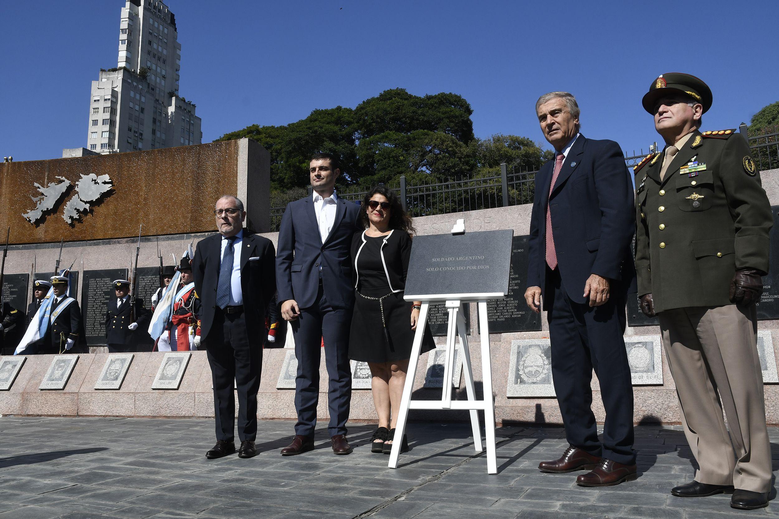 Aguad: Finalmente, y por la vía diplomática, las islas Malvinas van a ser argentinas