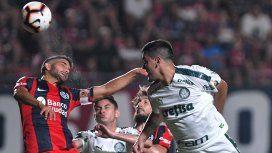 Con un golazo, San Lorenzo le ganó al Palmeiras y se acerca a octavos