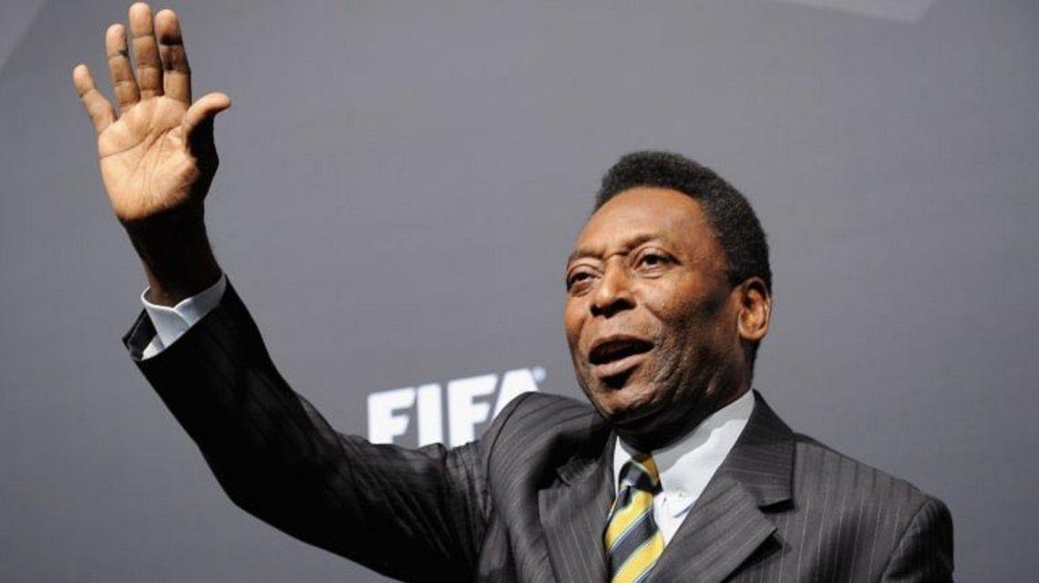 Operarán a Pelé por un cálculo en las vías urinarias