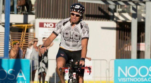 Juan Cravieri, corre Ironmans en sus tiempos libres